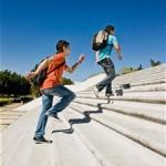 běh-do-schodů