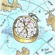 kompas-mapa